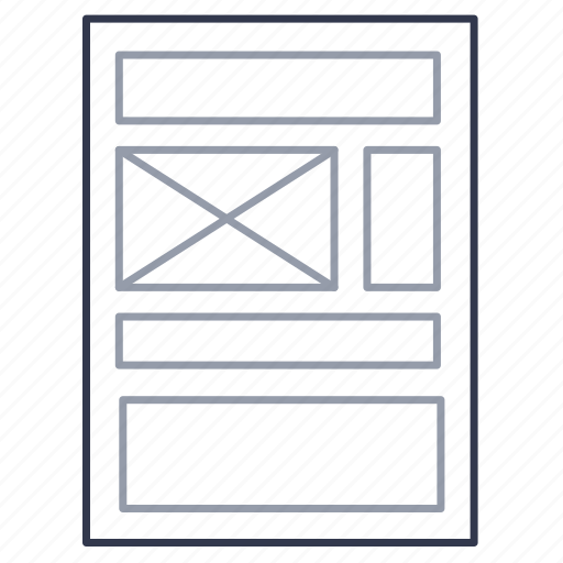 blank, document, file, form, format, sheet, template icon