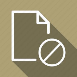 data, delete, document, extension, file, folder, sheet icon
