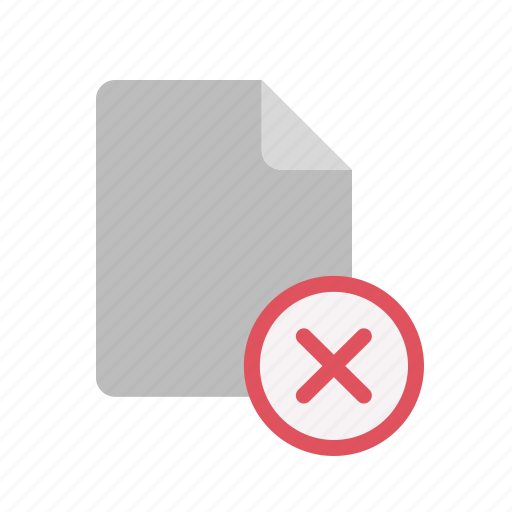 blanck, close, document, file icon