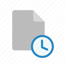 blanck, document, file, history icon