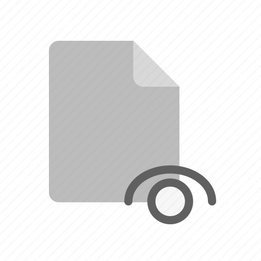 blanck, document, file, visible icon