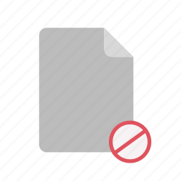 blanck, block, document, file icon