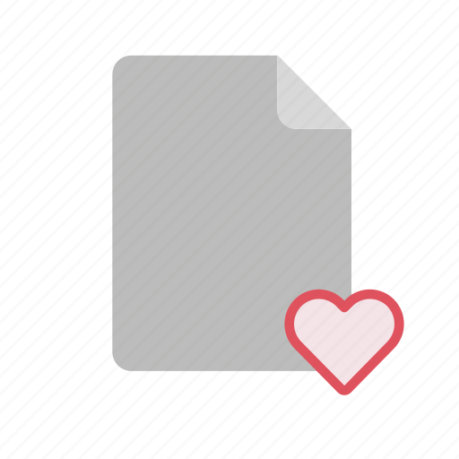 blanck, document, favorite, file icon