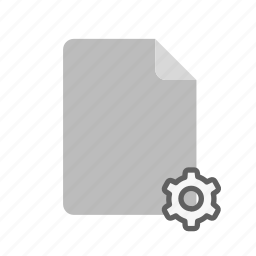 blanck, document, file, peremeters icon