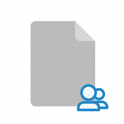 blanck, file, shared icon