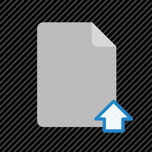 blanck, document, file, upload icon
