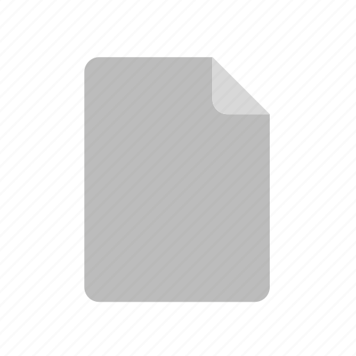 blank, document, file icon