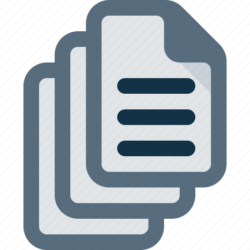document, documents, file, group, text icon