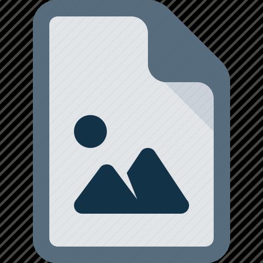 document, file, image, media, picture icon