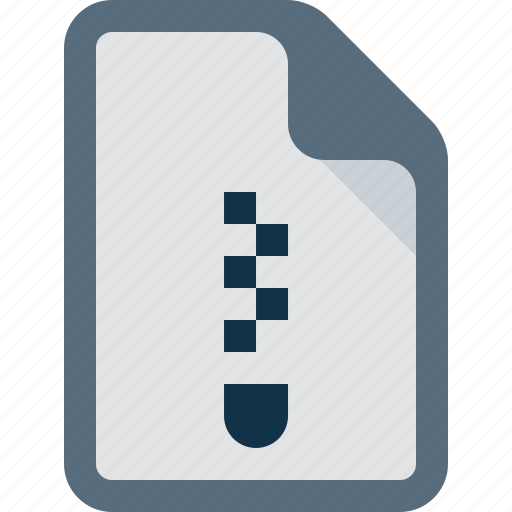 archive, data, document, file, zip icon