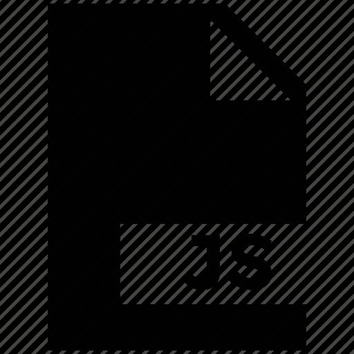 javascript, js document, js file, jsdoc, markup language icon