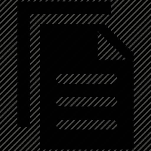 carbon, copy file, double, duplicate, print icon