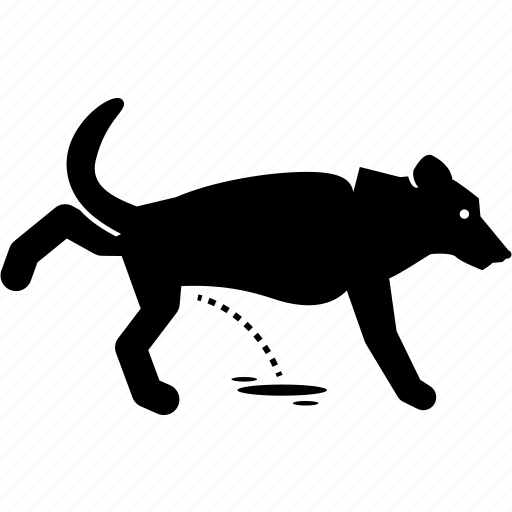 Dog, pee, peeing, urinate, urinating, urine icon - Download on Iconfinder