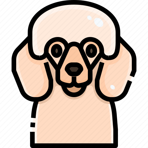 Animal, animals, avatar, dog, pets, pudle, puppy icon - Download on Iconfinder