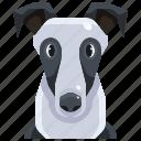 animal, avatar, canine, dog, greyhound, pets, puppy