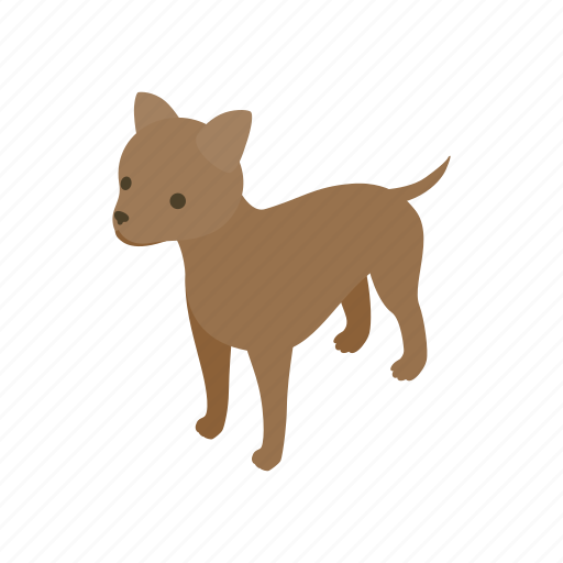 animal, blog, canine, dog, isometric, pet, puppy icon