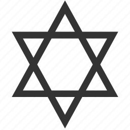 dogma, hallow, jewish, judaism, magen david, religion, star icon