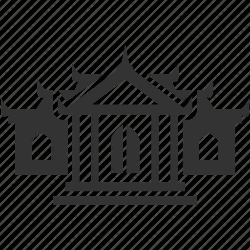 abbey, beliefs, church, dogma, hallow, house, monastery icon