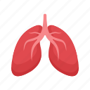 healthy, lung, lungs, medical, silhouette, technology