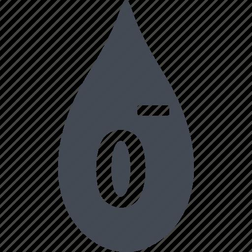 blood, donorship, drop of blood, rhesus icon