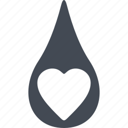 blood, donorship, heart, medical, transfusion icon