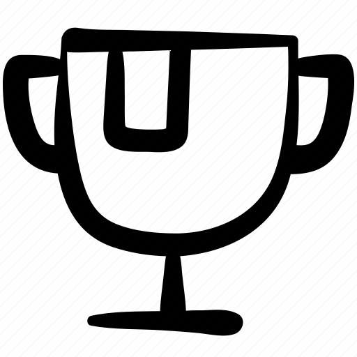 award, champion, cup, doodle, general, trophy, winner icon