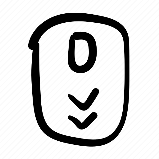 design, doodle, mouse, page, scroll, scroll down, web icon