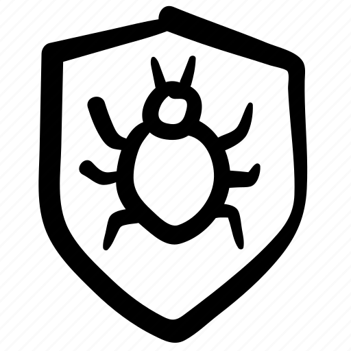 antivirus, bug, design, doodle, security, security bug, web icon