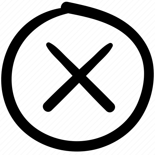 close, close button, close page, closed, doodle, remove, website icon
