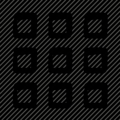 design, doodle, fine menu, home, menu, pixel, web icon