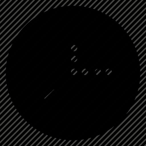 clock, dot, mobile, phone, web icon