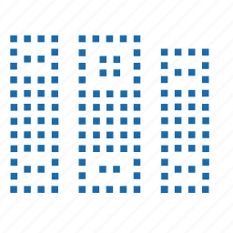 blue, document, documents, file, files, folder, lattice, matrix, paper, pixel, wenjj, word icon