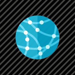 communication, globe icon