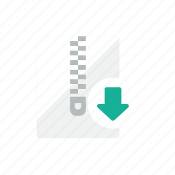 download, zip icon