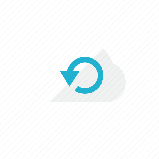cloud, refresh icon