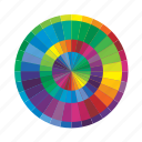 color, design, graphic, mixer, wheel icon