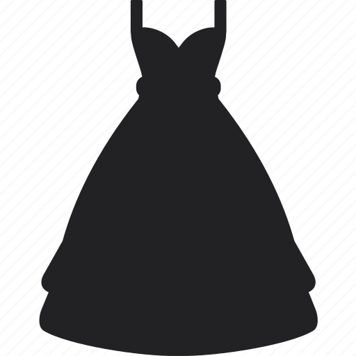 clothes, dress, long, party, sale, shopping, skirt icon