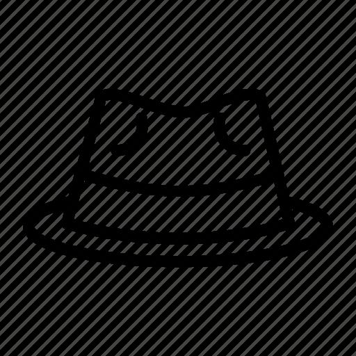 clothing, fashion, fedora, hat icon