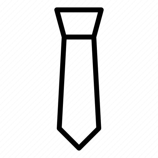accessory, clothing, formal, tie icon