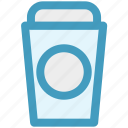 coffee, coffee cup, disposable cup, drink, paper coffee cup icon