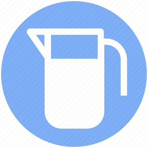 glass jar, jar, milk, milk jug, pot, water jug icon