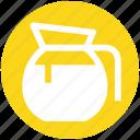 glass jar, jar, jug, milk, milk jug, pot icon
