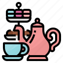 afternoon, bakery, coffee, tea icon