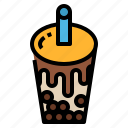 drink, bubble, milk, tea icon