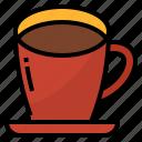 caffeine, coffee, drink, hot icon