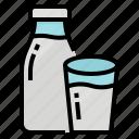 dairy, drink, fresh, milk icon