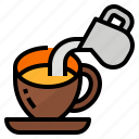 drink, milk, taiwan, tea icon