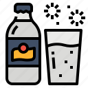 drink, mixed, soda, water icon