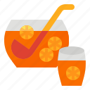 alcohol, drink, juice, punch icon