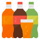 carbonated, drink, soda, soft icon